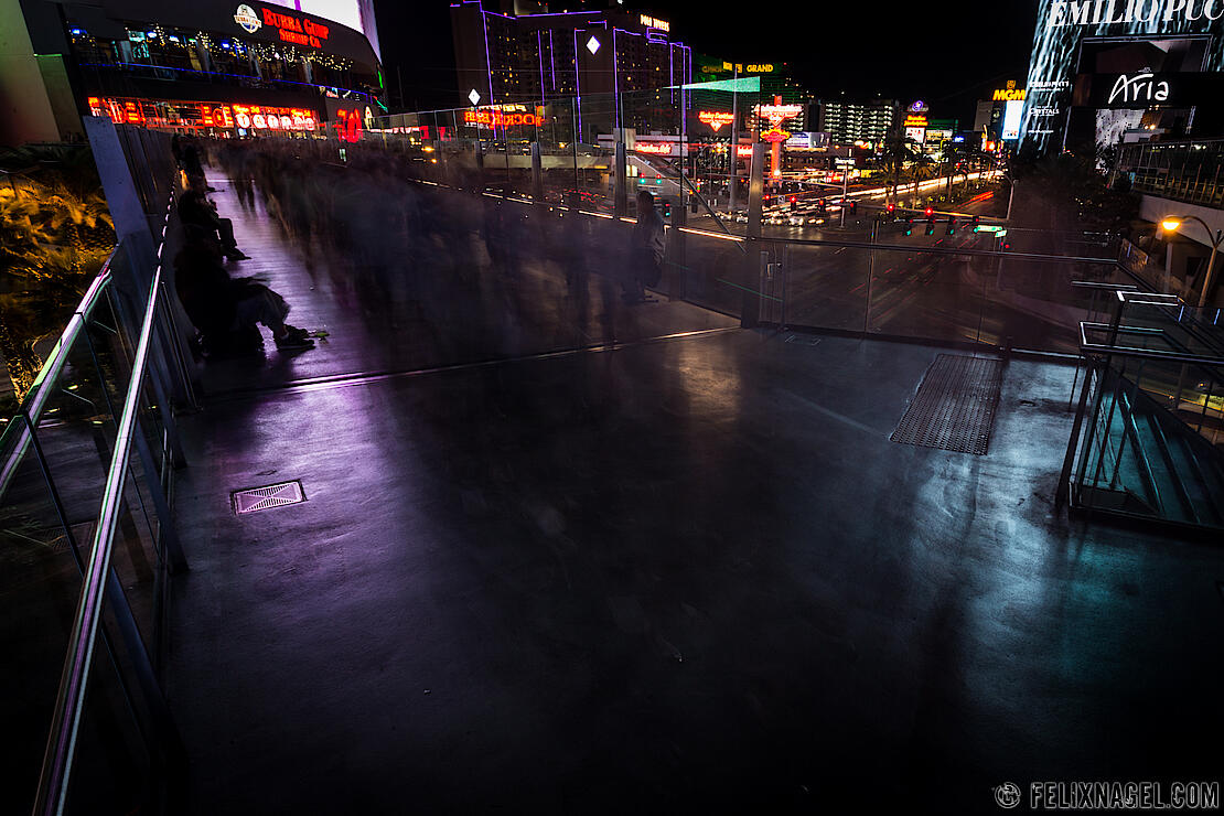 Long Exposure, Strip Las Vegas, USA 2015
