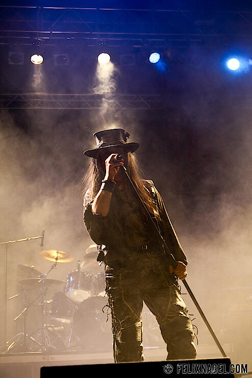 Fields Of The Nephilim beim 20. Wave-Gotik-Treffen Juni 2011 in Leipzig