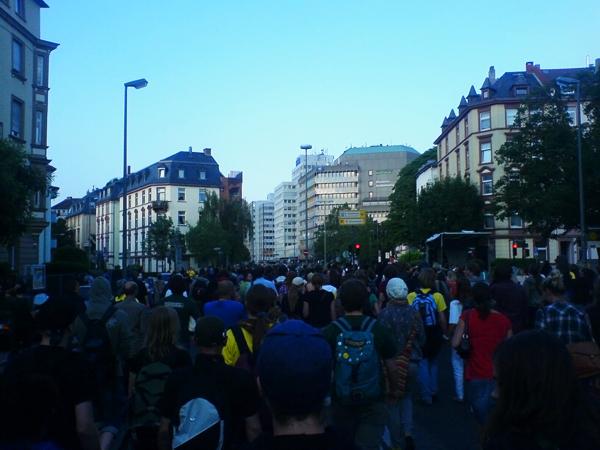 Demo gegen Studiengebühren am 11.06.08