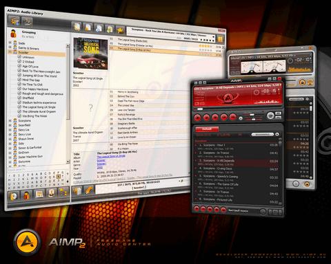 Werbebild des AIMP Musik Player