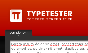 Screenshot Typtester.org