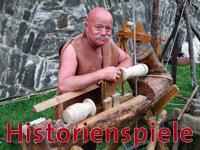 Bilder von den Historienspielen 2008 auf der Festung Ehrenbreitstein